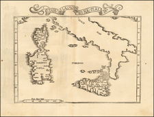 Italy and Balearic Islands Map By Lorenz Fries