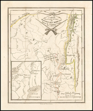 Map By Pierre Antoine Tardieu / James Fenimore Cooper