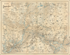 Norddeutschland Map By Alexius Kiessling
