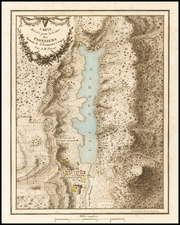 New York State Map By Pierre Antoine Tardieu / James Fenimore Cooper