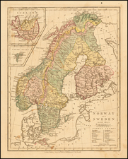 Scandinavia and Iceland Map By Robert Wilkinson