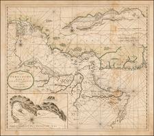 Middle East Map By Johannes II Van Keulen