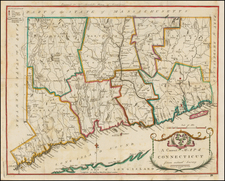 New England Map By Amos Doolittle