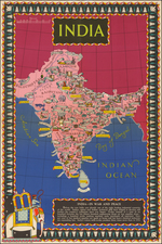 India Map By British Information Services
