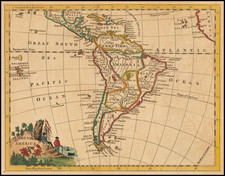 South America Map By Thomas Jefferys