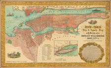 New York City Map By Charles Magnus