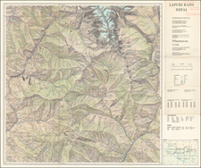 China and Central Asia & Caucasus Map By Peter  Aufschnaiter