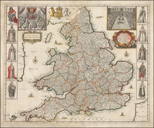 England Map By Robert Greene