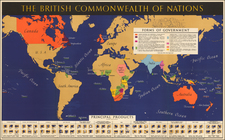 World and World Map By British Information Services