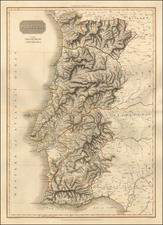 Portugal Map By John Pinkerton