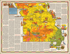 Plains Map By R.T. Aitchison