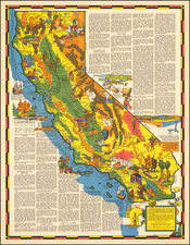 California Map By R.T. Aitchison