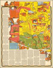 Southwest Map By R.T. Aitchison