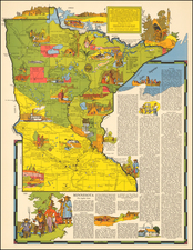 Midwest Map By R.T. Aitchison