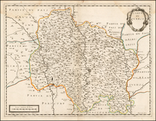 France Map By Pierre Mariette