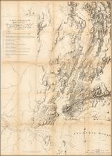 Mid-Atlantic Map By Valentine's Manual / Joseph Frederick Wallet Des Barres