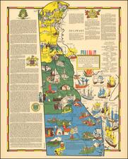 Mid-Atlantic Map By R.T. Aitchison