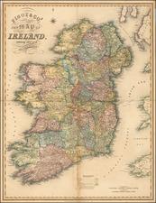 Ireland Map By James Pigot