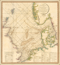 The North Sea with The Kattegat from the Chart of Messrs. De Verdun, Borda and Pingre made Publice in 1777, By order of Louis XVI . . . 1796 By William Faden