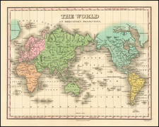 World Map By Anthony Finley