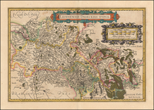 Map By Jodocus Hondius  &   Gerard Mercator