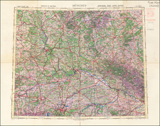 Germany Map By Geographical Section, War Office (UK)