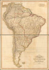 South America Map By William Faden