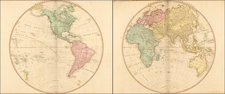 World and World Map By William Faden