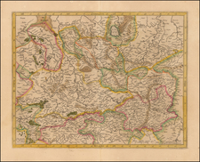 Germany Map By Henricus Hondius  &   Gerard Mercator
