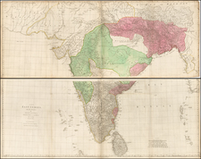 India and Other Islands Map By Robert Sayer  &  Thomas Jefferys