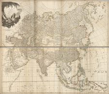 Asia and Asia Map By Robert Sayer / John Bennett