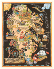Mid-Atlantic Map By Richard Q. Yardley