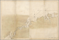 New York City, Mid-Atlantic and American Revolution Map By Joseph Frederick Wallet Des Barres
