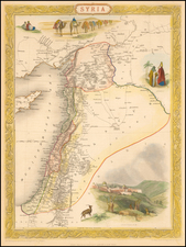 Syria [shows Cyprus] By John Tallis