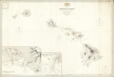 Hawaii and Hawaii Map By British Admiralty