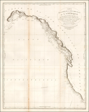 Alaska, California and Canada Map By George Vancouver
