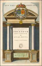 [Title Page]  Theatrum Orbis Terrarum sive Atlas Novus Pars Secunda By Willem Janszoon Blaeu