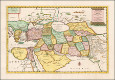 Ukraine, Central Asia & Caucasus, Middle East, Holy Land, Turkey & Asia Minor, Egypt and Russia in Asia Map By Tipografia del Seminario