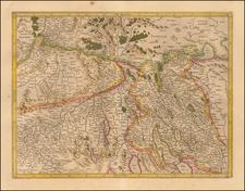 Switzerland Map By  Gerard Mercator