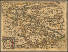 Austria Map By Johannes Matalius Metellus