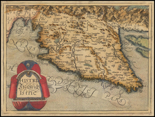 Balkans and Italy Map By Johannes Matalius Metellus