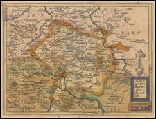 Germany Map By Johannes Matalius Metellus