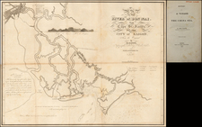 Map of the River Don-Nai from Cape St. James to the City of Saigon.  From the Original by M. Dayot.  Hydrogrpher to the King of Cochin-China.  1791.  With Additions to 1820 by John White, U.S.N.  (with History of a Voyage To The China Sea) By John White