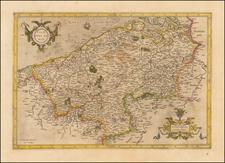 Map By Gerhard Mercator