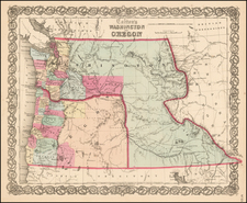 Map By Joseph Hutchins Colton
