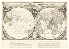 World, World, Northern Hemisphere and Southern Hemisphere Map By Paolo Santini