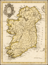 Ireland Map By Le Rouge