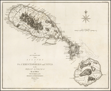 Caribbean Map By John Cary