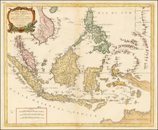 Southeast Asia, Philippines and Indonesia Map By Paolo Santini
