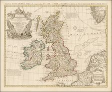 British Isles Map By Covens & Mortier